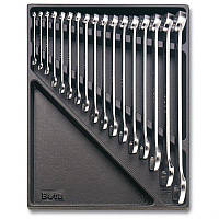 2424 T10-набор ключей комбинированных в ложименте,17 предметов BETA 24240010