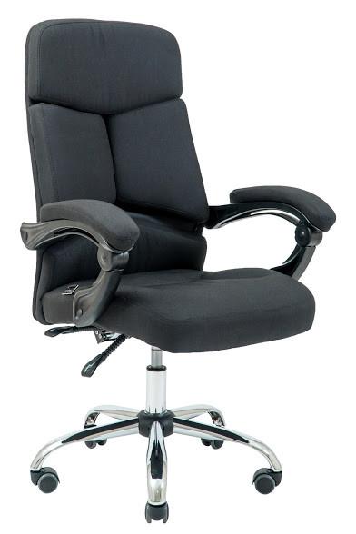 Кресло Прадо Хром ткань Черная (Richman ТМ)