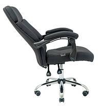 Кресло Прадо Хром ткань Черная (Richman ТМ), фото 2