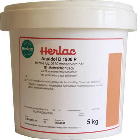 Herlac Aquidol D2000 P паркетный водный лак, глянцевый (ведро 5 кг), фото 2