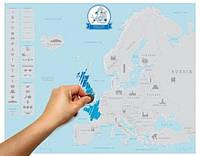 Скретч карта Европы , фото 1