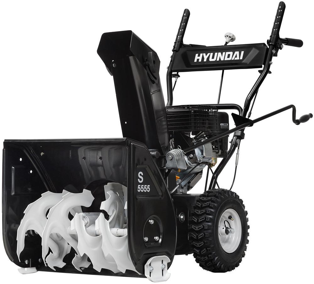 Бензиновый снегоуборщик HYUNDAI S 5556 (5.5 л.с.; самоходный)