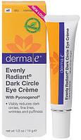 Крем от темных кругов под глазами Evenly Radiant® *Derma E (США)*