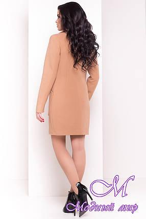 Женское кашемировое демисезонное пальто (р. S, M, L) арт. Габриэлла 4420 - 21656, фото 2