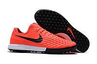 Бутсы сороконожки Nike MagistaX Finale II TF orange, фото 1