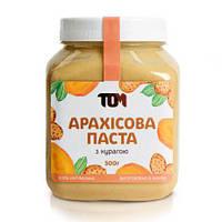 Арахисовая паста с курагой 500 грамм (сушеный абрикос)