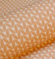 Ткань. Хлопок Пряжа свитерок светло-коричневого цвета. Отрез 50х40см