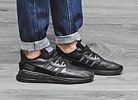 Стильные мужские кроссовки летние, осенние Аdidas Еquipment adv (черные), по скидке, ТОП-реплика