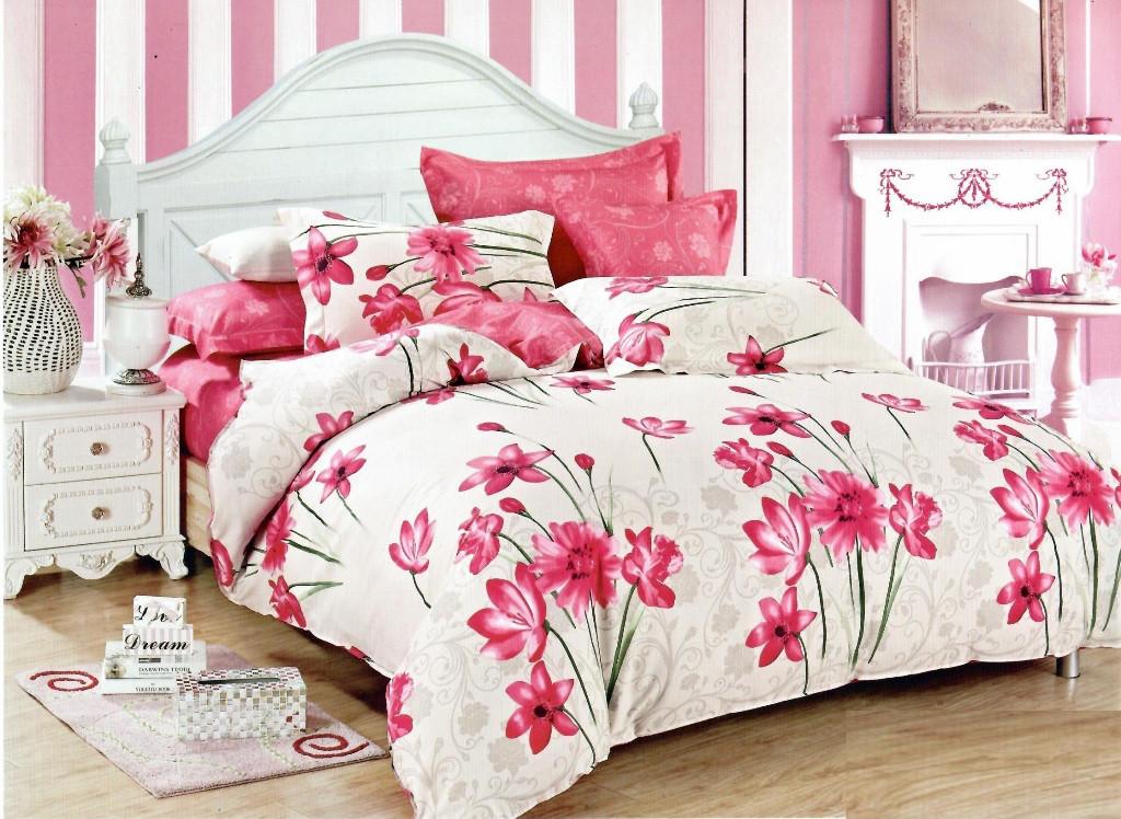 Полуторный комплект постельного белья 150х220 из бязи Голд Весна