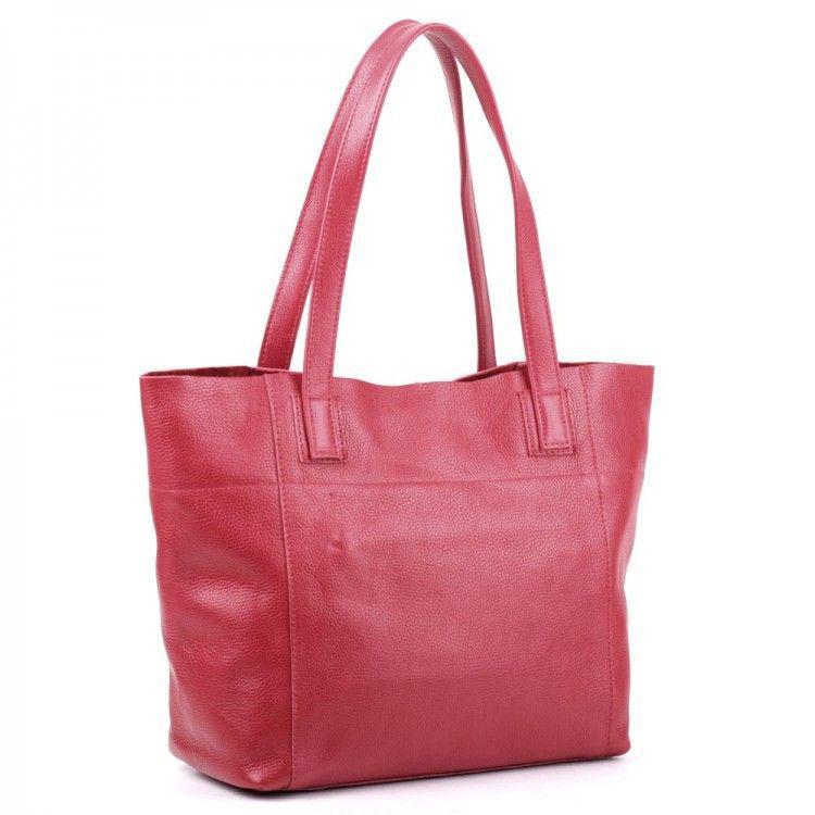76ec2b9a78c7 Красная кожаная сумка ручной работы BagTop арт. BTJS-3-9, цена 1 250 ...