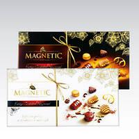 Конфеты шоколадные с пралине MAGNETIC 400г