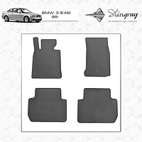 Резиновые коврики Stingray для BMW 3 (Е46) 98 -