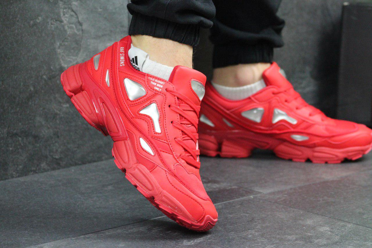 53cfa69edcd6 Красные Мужские Кроссовки Adidas Raf Simons (Реплика) — в Категории