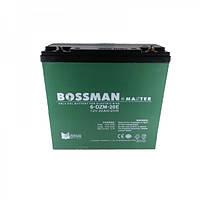 Велосипедный аккумулятор Bossman 6-DZM20E (12V, 20 Ah)