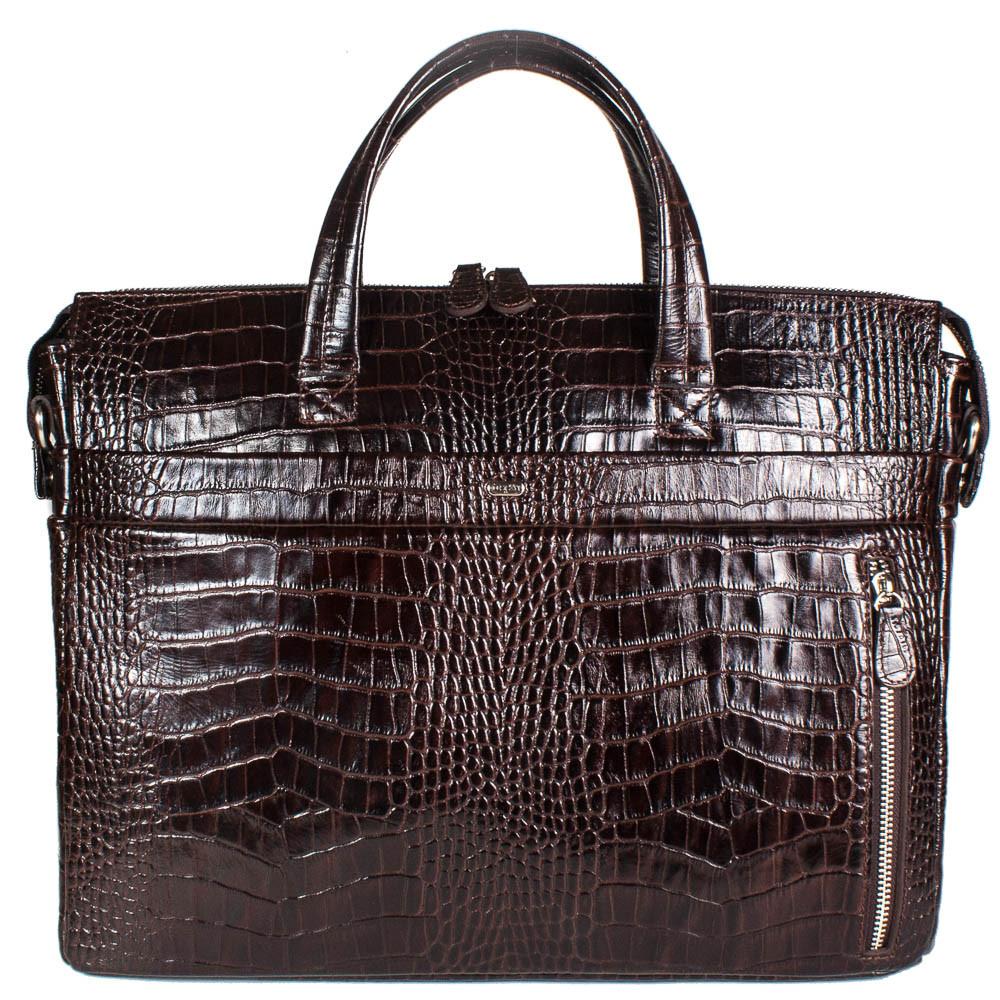 "Кожаная мужская сумка для ноутбука 15.6"" Desisan"