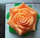 Мыло Роза с листочками, фото 3
