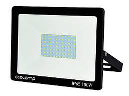 Светодиодный LED прожектор 100W 6500К 9000 Lm IP65 Ecolamp