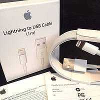 Кабель Apple Lightning to USB Cable Шнур для iPhone/iPad/iPod (1м)