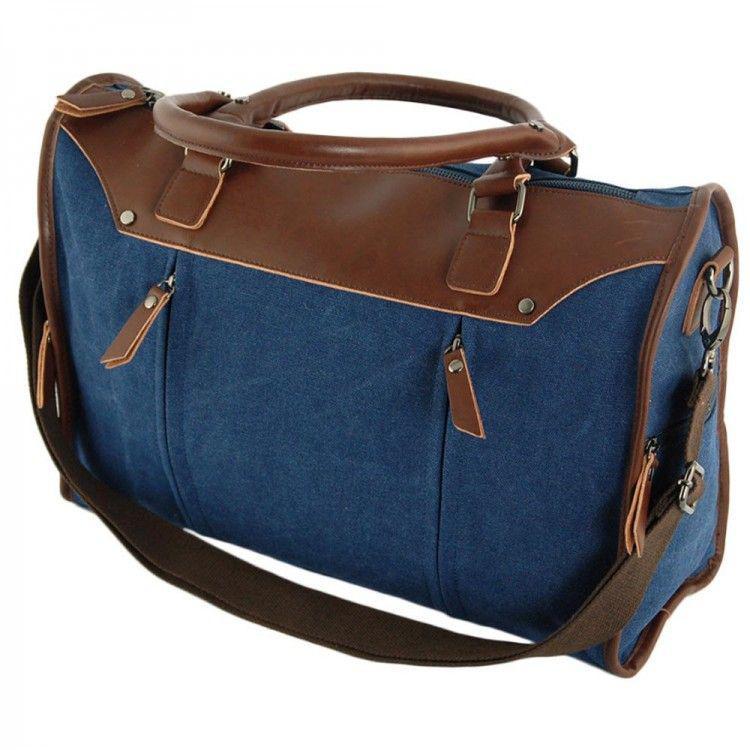 6ac55f0793df Дорожная сумка из плотной ткани Traum арт. 7055-02 - BagShop.ua интернет