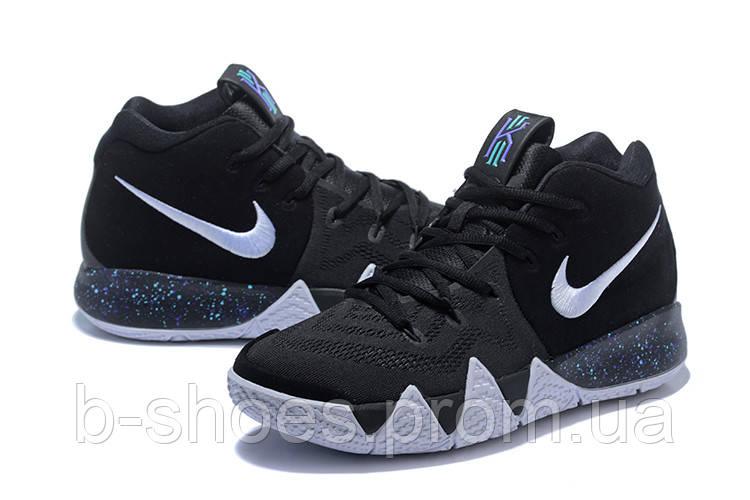 Мужские баскетбольные кроссовки Nike Kyrie 4 (black/white)