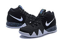 Мужские баскетбольные кроссовки Nike Kyrie 4 (black/white), фото 1