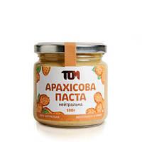 Арахисовая паста нейтральная 180 грамм (без добавок)