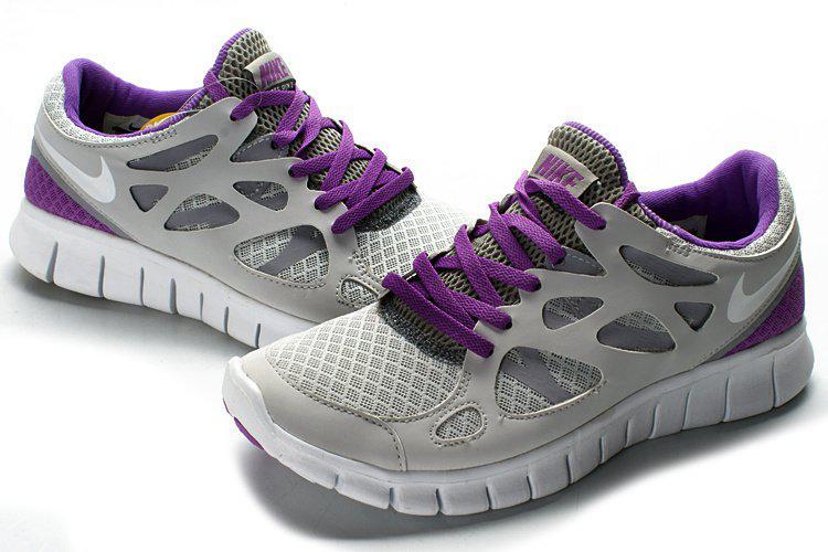 first rate 972ad 48d31 Nike Free Run Plus 2 Grey Purple | кроссовки женские летние беговые