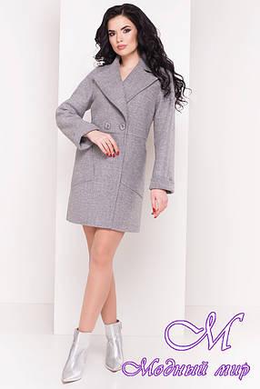 Женское молодежное пальто весна-осень (р. S, M, L) арт. Модика 4552 - 21619, фото 2