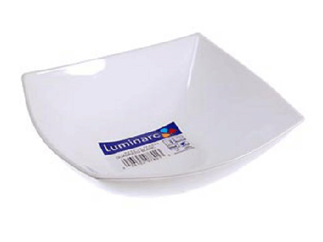 Салатник квадратный белый Luminarc Quadrato White 160 мм (C9853), фото 2