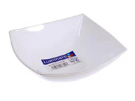 Салатник  Luminarc  Quadrato White 160 мм. C9853, фото 2