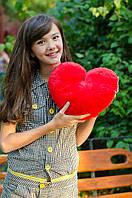 Плюшевое Сердце (красное  35 см)