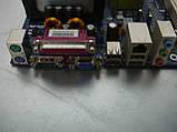 Материнская плата S478 Foxconn 845GV4MR-ES с процессором Celeron и оперативной памятью, фото 7