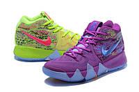 Мужские баскетбольные кроссовки Nike Kyrie 4 (green/violet), фото 1