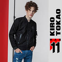 11 Kiro Tokao   Весенне-осенний бомбер из Японии 808 черный
