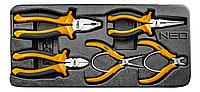 Шарнирно-губцевый инструмент, набор 5 шт, NEO TOOLS