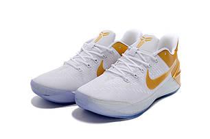 "Кроссовки Nike Kobe AD ""White/Gold"", фото 2"