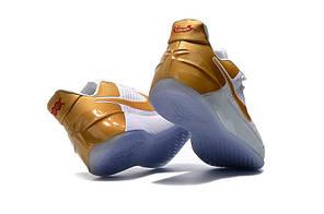 "Кроссовки Nike Kobe AD ""White/Gold"", фото 3"