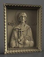 Икона резная Святой Валерий