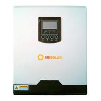 Инвертор ABi-Solar SLP 5048 MPPT с пылезащитой (5 кВА/4 кВт , 1 фаза / 3 кВт DC, 48 В), фото 1