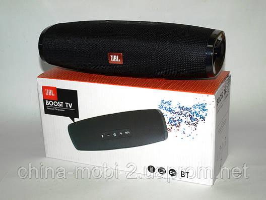JBL Boost TV 16W копия, Bluetooth колонка с FM MP3, черная, фото 2
