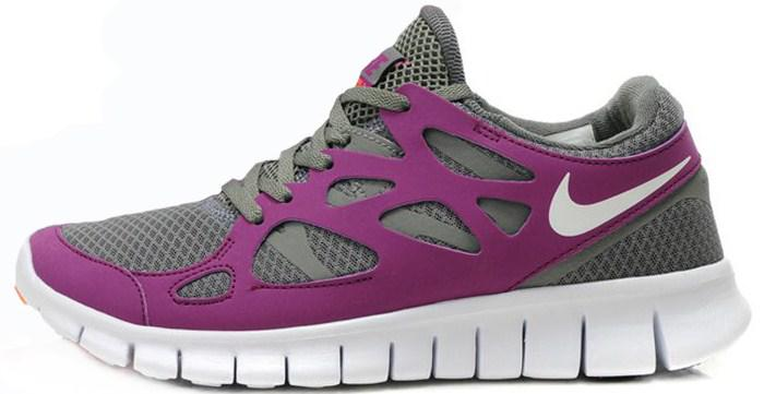 pretty nice 80a2a 26d3b Nike Free Run Plus 2 Violet Grey | кроссовки женские летние беговые
