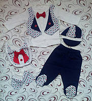 """Подарочный набор для мальчика """"Джентельмен"""", 5 предметов, фото 1"""