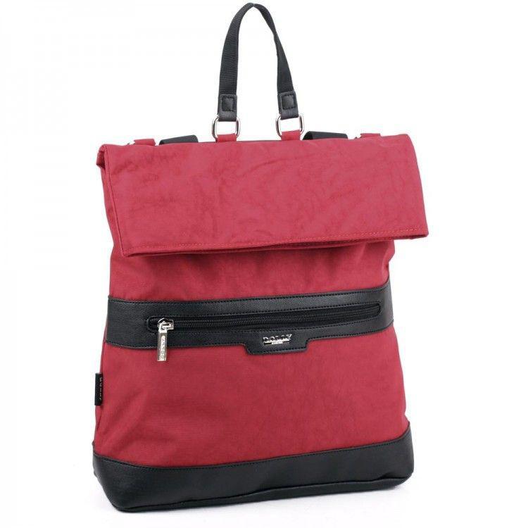 35d2cc878d9f Городской рюкзак красного цвета Dolly арт. 367-1 - Интернет-магазин сумок  BagShop