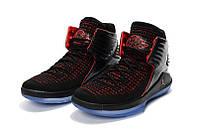 Детские баскетбольные кроссовки Air Jordan 32 (black/red), фото 1