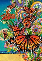"""Кастор пазлы 1000 """"Бабочки Монархи"""""""