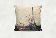 """Подарочная подушка """"Любовь в Париже"""""""