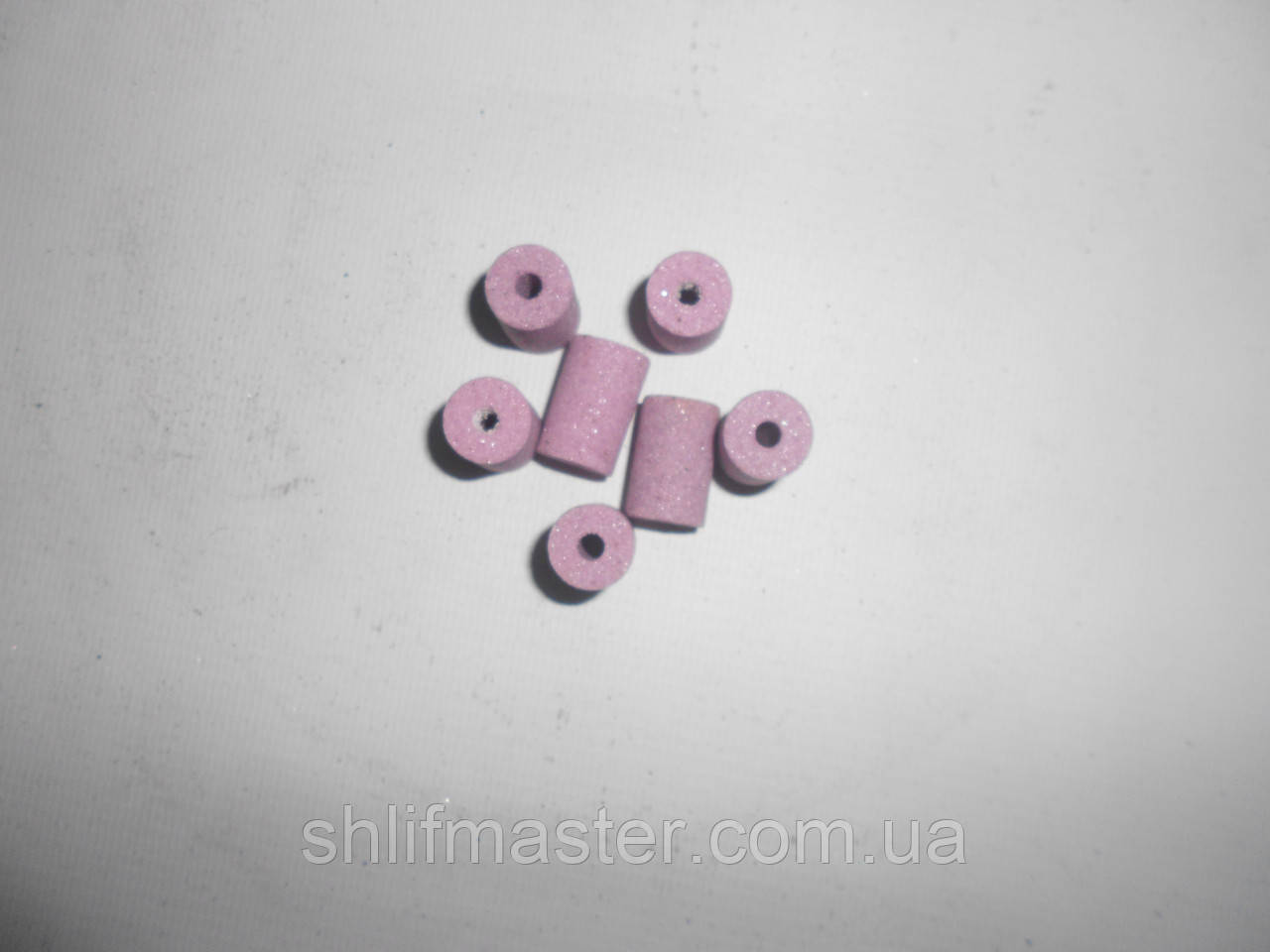 Круг абразивный шлифовальный прямого профиля (розовый) 92А 13х20х4