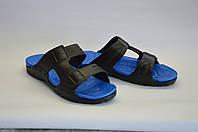 Сланцы ПВХ ЭВА мужские синие оптом, фото 1