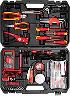 Набор инструментов для электриков, 68 шт, YATO