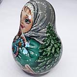 """Музыкальная неволяшка из дерева ручной росписи """"Катюша"""", фото 4"""